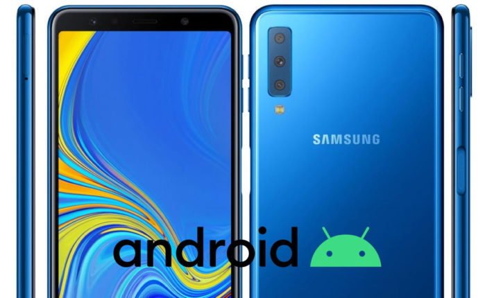 Samsung Galaxy A7 2018 Android 10