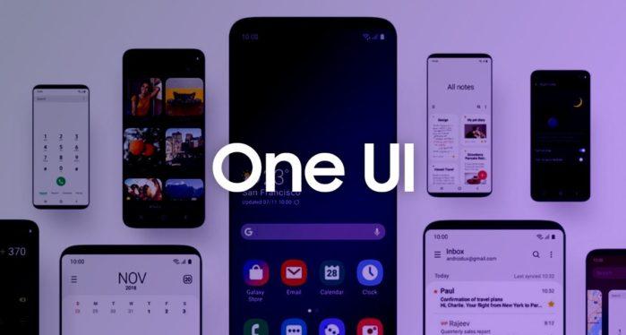 Samsung One Ui 2.5 in sviluppo