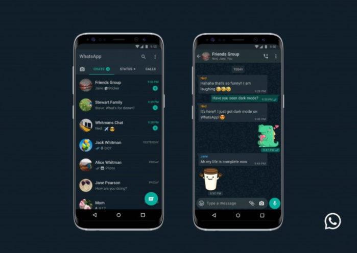 WhatsApp modalità scura ufficiale Apple iOS e Android