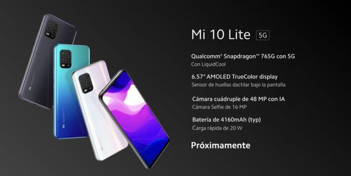 Xiaomi MI 10 Lite specifiche