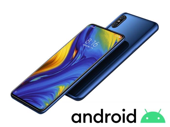 Xiaomi Mi Mix 3 riceve Android 10