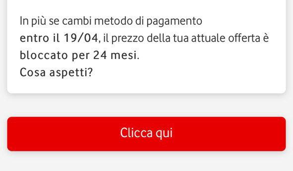 19 Aprile Vodafone