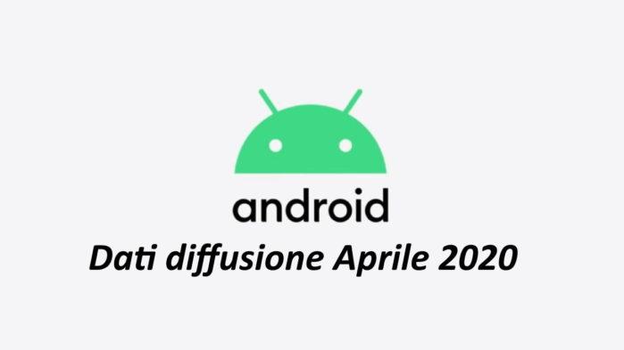 Android 10 diffusione aprile 2020