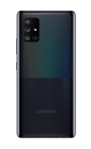 Galaxy A71 5G camere posteriori