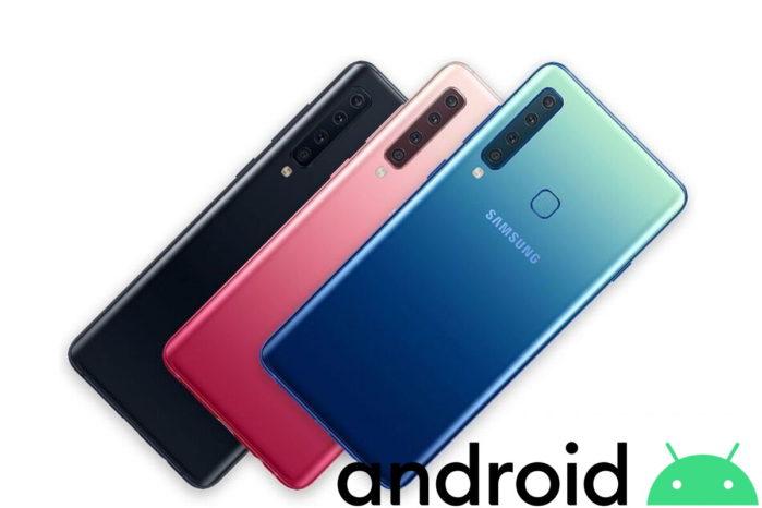 Galaxy A9 2018 aggiornamento Android 10