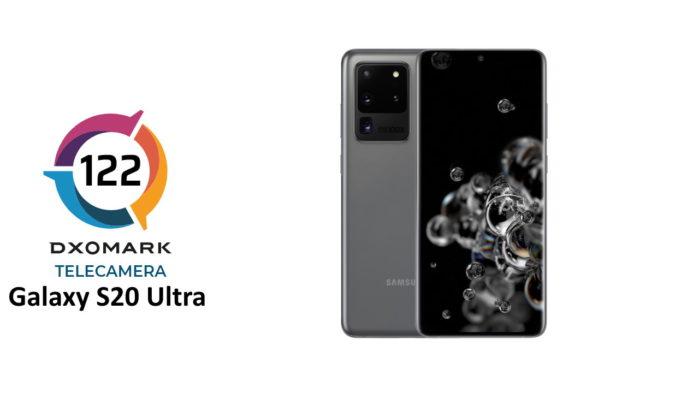 Galaxy S20 Ultra punteggio DxOMark