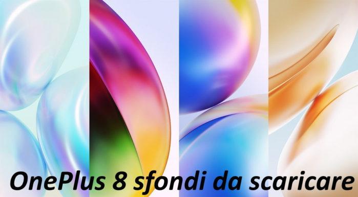 OnePlus 8 wallpaper da scaricare