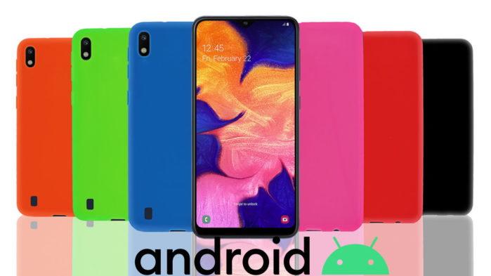 Samsung Galaxy A10 aggiornamento Android 10