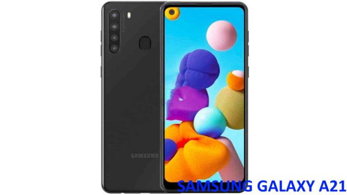 Samsung Galaxy A21 video 3D render