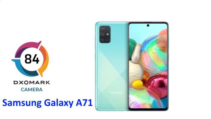 Samsung Galaxy A71 punteggio DxOMark