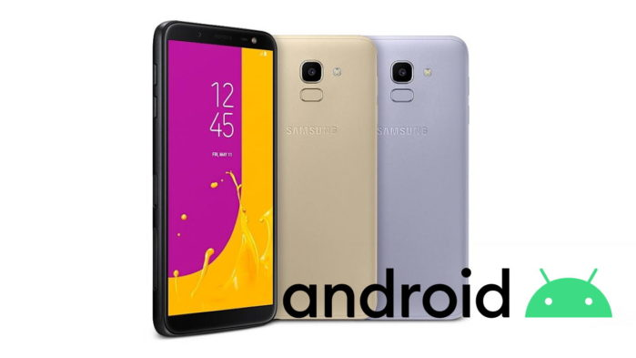 Samsung Galaxy J6 Android 10