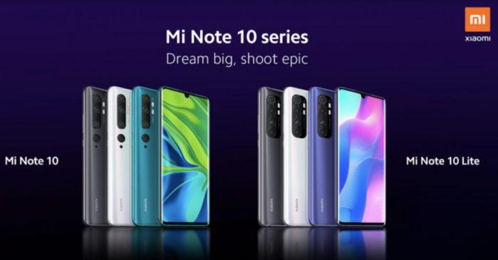Xiaomi Mi Note 10 Lite confermato