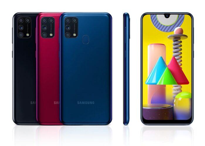 Galaxy M31 colori