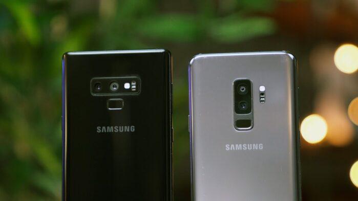 Galaxy Note 9 e Galaxy S9 niente One Ui 2.1 a maggio 2020