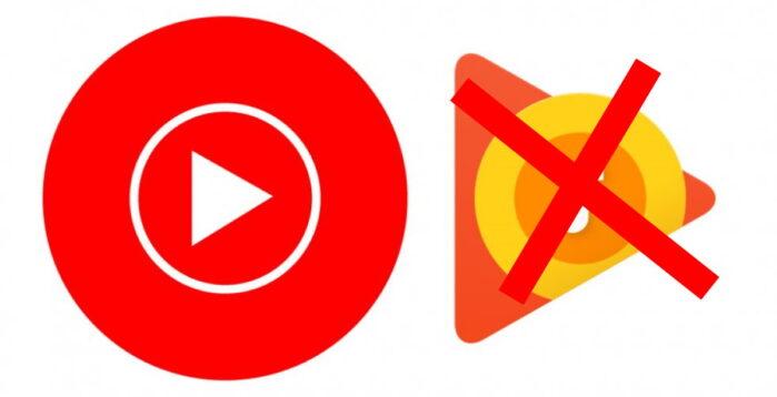 Google Play Music chiude e si passa a Youtube Music
