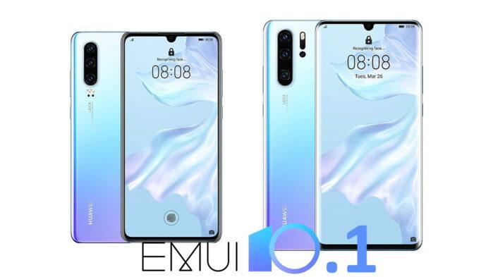 Huawei P30 e P30 Pro aggiornamento EMUI 10.1