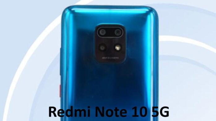 Redmi Note 10 5G certificato TENAA