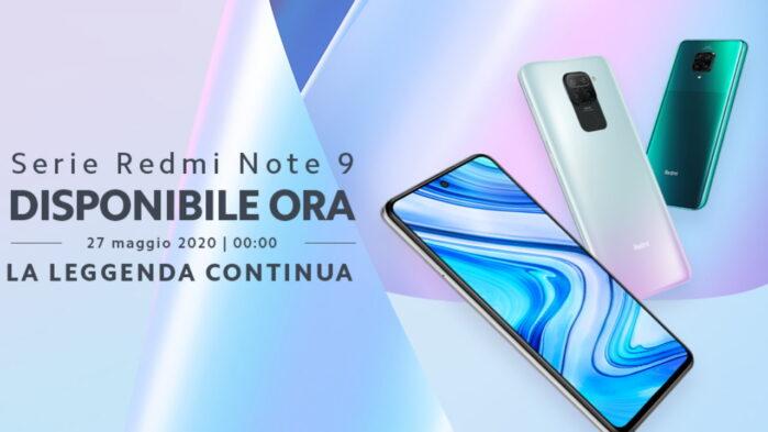 Redmi Note 9 e Note 9 pro prezzo Italia