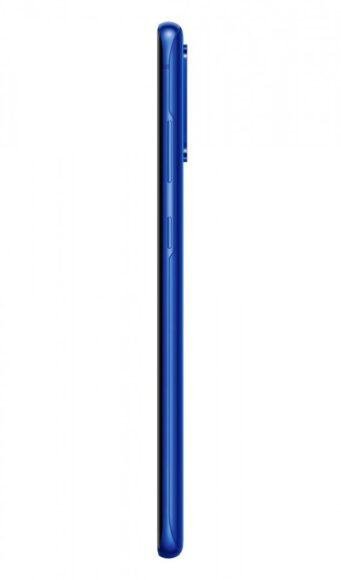 S20 Plus Aura blue laterale