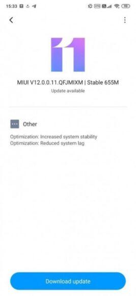 Xiaomi Mi 9T MIUI 12 Globale