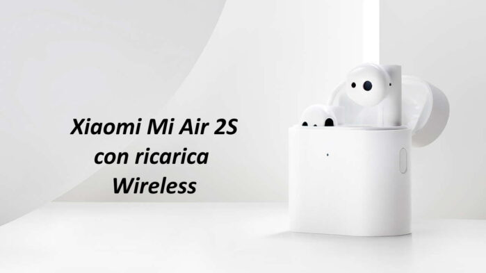Xiaomi Mi Air 2S con ricarica wireless prezzo offerta