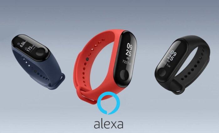 Xiaomi Mi band 5 con Alexa e Sp02