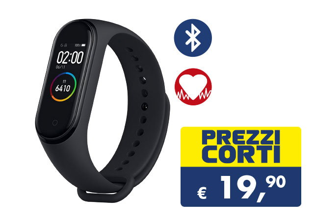 Xiaomi Mi Band 4 offerta Esselunga