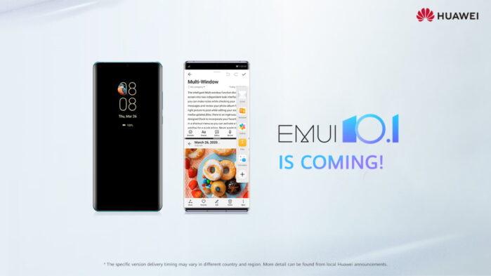 EMUI 10.1 e Magic UI 3.1 smartphone Europa