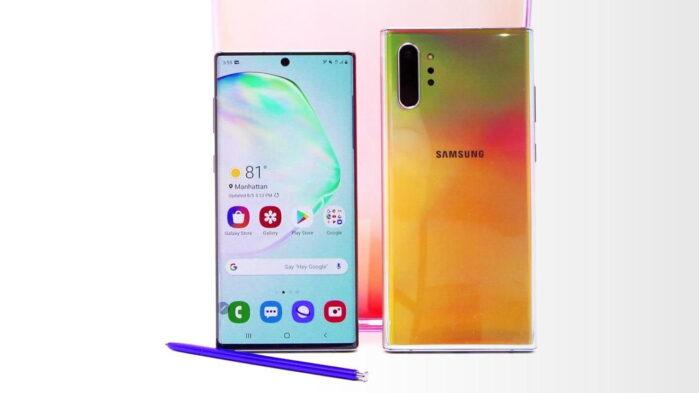 Galaxy Note 10 aggiornamento giugno 2020