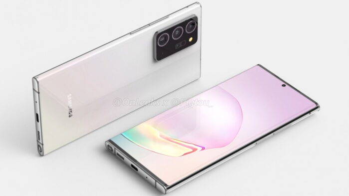 Galaxy Note 20 Plus rumors tripla camera posteriore