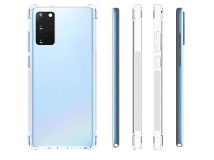 Galaxy Note 20 e 20 Plus display piatto e curvo rispettivamente