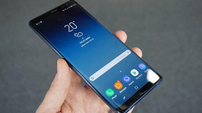 Galaxy Note 8 aggiornamento giugno 2020