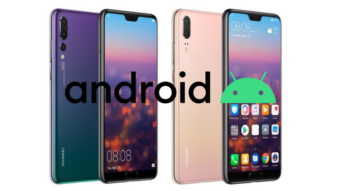Huawei P20 e P20 Pro Android 10 in Italia
