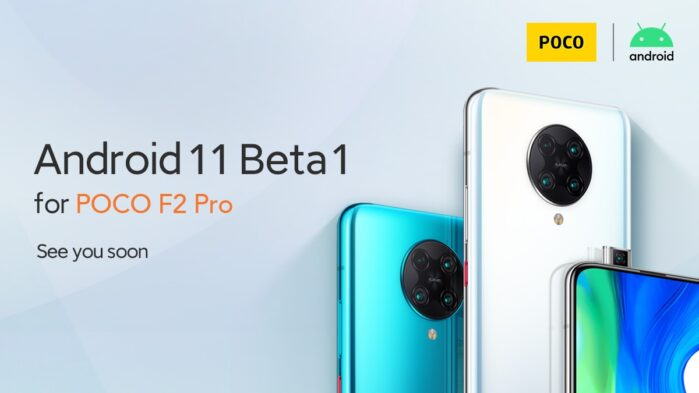 Poco F2 Pro Android 11 beta
