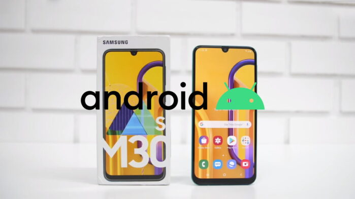 Samsung Galaxy M30s Android 10