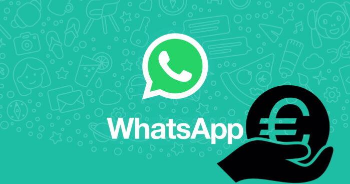 WhatsApp trasferimento denaro
