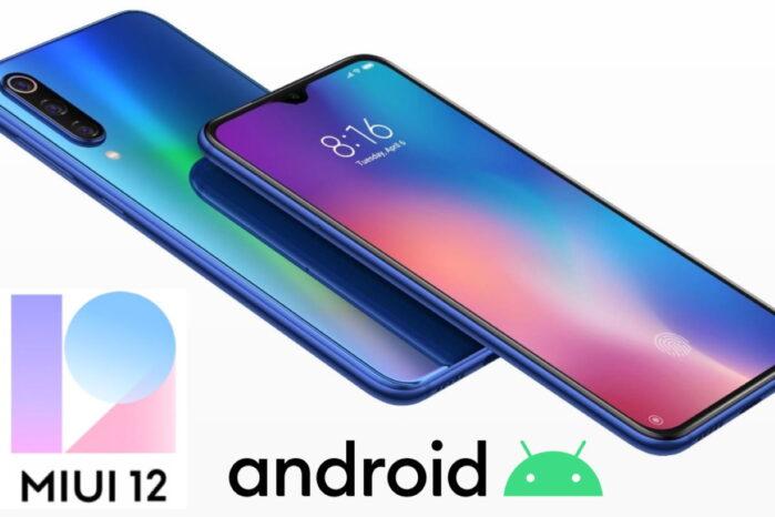 Xiaomi MI 9 MIUI 12 aggiornamento con Android 10 in Italia