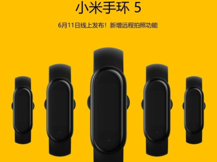 Xiaomi Mi Band 5 ecco la data! Avrà anche il controllo remoto della camera