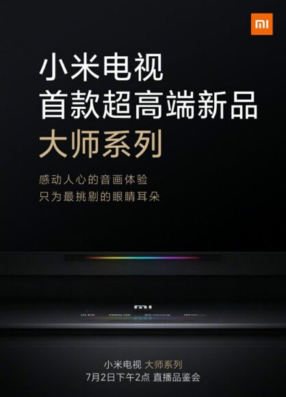 Xiaomi MI TV con display OLED a 120Hz