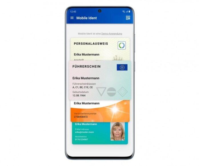 Galaxy S20 carta d'identità nazionale Germania