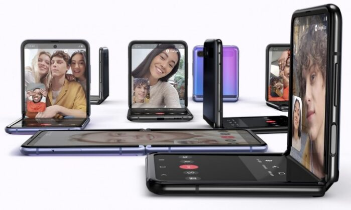 Galaxy Z Flip 5G display pieghevole
