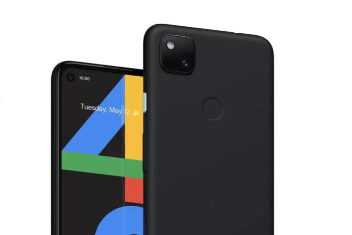 Google Pixel 4A design definitivo