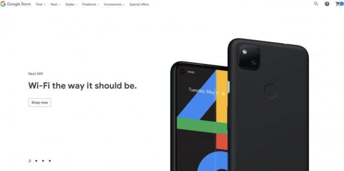 Google Pixel 4A svelato design definitivo
