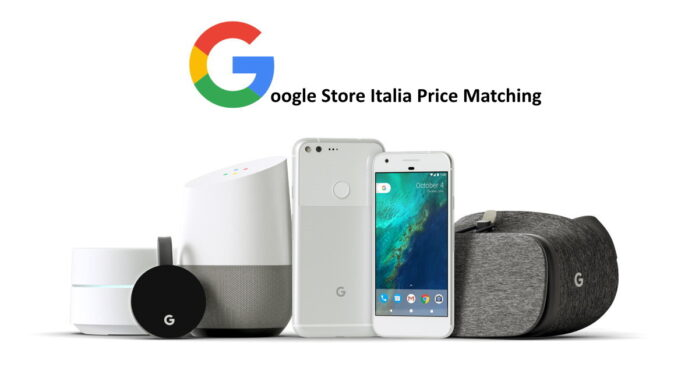 Google Store Price Matching in Italia