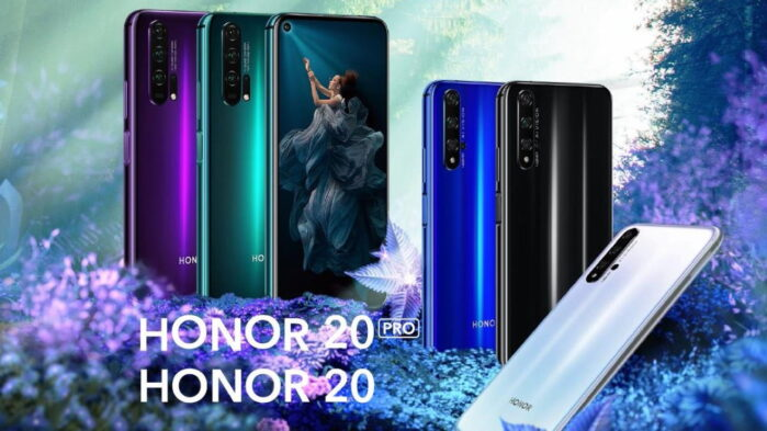 Honor 20 e 20 Pro aggiornamento Magic UI 3.1 con Android 10