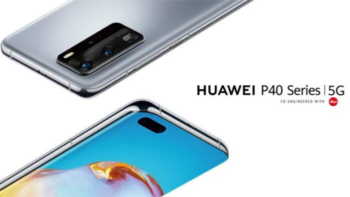 Huawei P40 serie aggiornamento fine luglio 2020