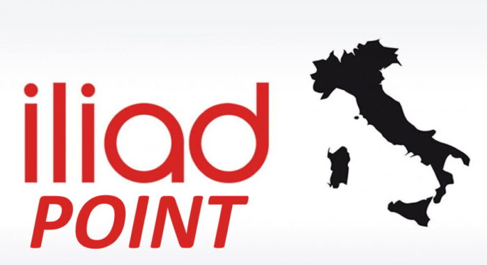 Iliad Point in Italia presso bar e tabaccherie