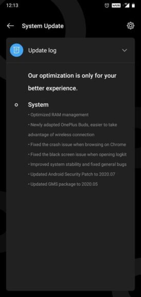 OnePlus 6 e 6T Oxygen OS 10.3.5