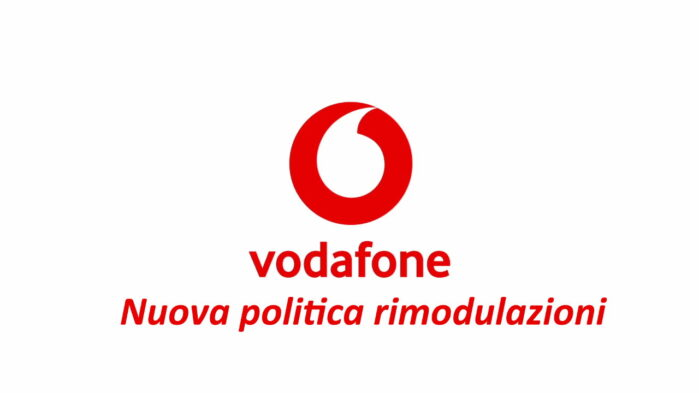 Vodafone Italia Rimodulazioni