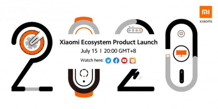 Xiaomi Evento 15 luglio 2020